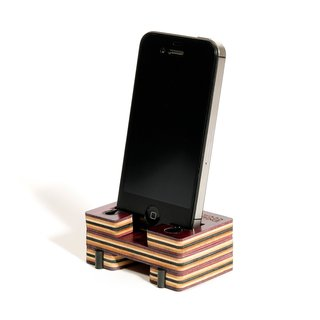 WOOD STANCE Phone Stand 4/4S lila