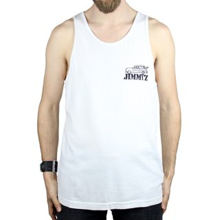 JIMMYZ Tank Top 1984 White
