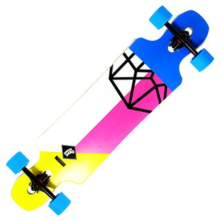 APEX Longboard Avenue Maple Neon