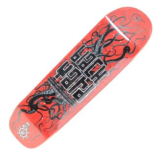 BLACK YARD Deck Square Tail 8,8 Red