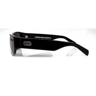 RUDE Glasses Nothing Else Matters Black-Red