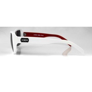 RUDE Glasses Whole Lotta Love White-Red