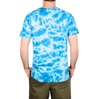 JIMMYZ T-Shirt LA Tie Dye Blue