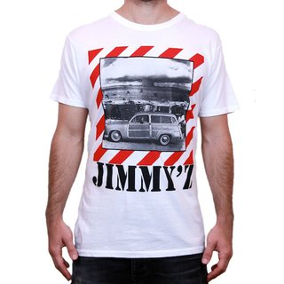JIMMYZ T-Shirt Woody & the Bomb White