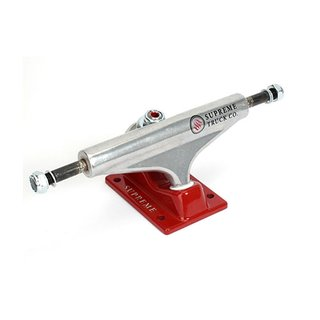 SUPREME TRUCKS CO. Truck 129MM Silver/Red