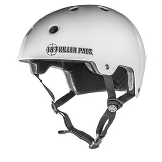 187 KILLER PADS Certified Helmet White